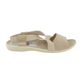 Sandaler för kvinnor Adanex 17495 beige brun