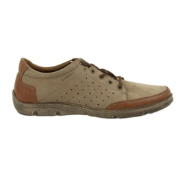 Herrskor Badura 3524 beige / brun