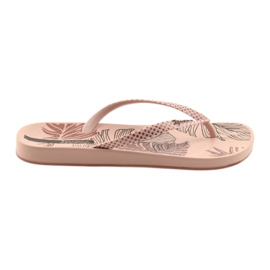Kvinnors flip-flops Ipanema 82525 pulver