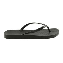 Kvinnors svarta flip-flops Ipanema 82591