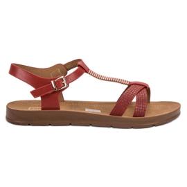 Filippo Klassiska röda sandaler