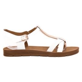 Filippo Klassiska vita sandaler