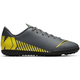 Nike Mercurial Vapor X 12 Club Tf Jr AH7355-070 Fotbollskor grå