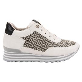 Aclys brun Sneakers med mönster