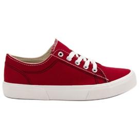 Kylie Röda sneakers