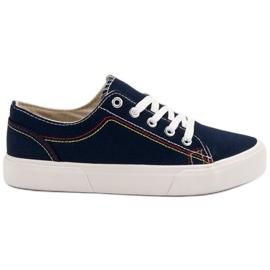 Kylie Mörkblå sneakers marinblå