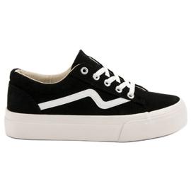 Kylie Trendiga svarta sneakers