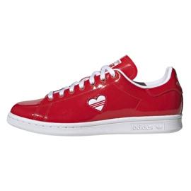Adidas Originals Stan Smith skor i G28136 röd