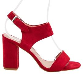 Röda VINCEZA Sandaler