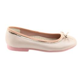 Ballerinas med en rosa pärla pärla American Club GC14 / 19