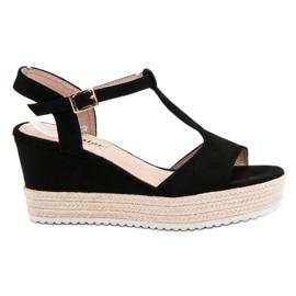 Seastar Espadrilles Black Sandals svart
