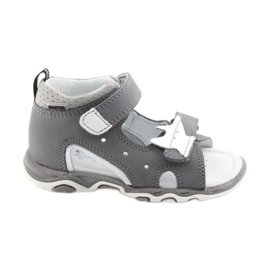 Sandaler pojkarnappar Bartek 51489 grå