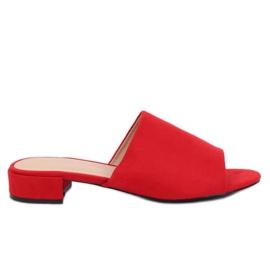 Kvinnors röda tofflor XW9093 Red