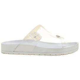 Seastar Transparenta Flip Flops vit