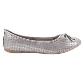 Evento grå Silver Ballerina Med Bow