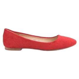 Primavera Classic Red Ballerina röd