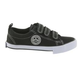 Velvet sneakers American Club svart