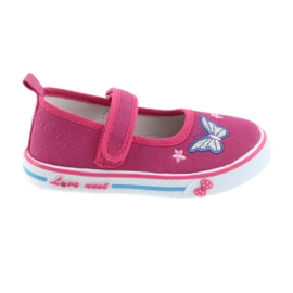 Rosa ballerinas sneakers Atletico läder innersula