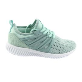 Bartek lädersula 55114 Mint sportskor grön