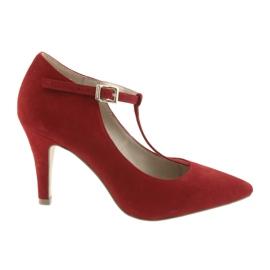 Damskor Red Caprice 24400 röd