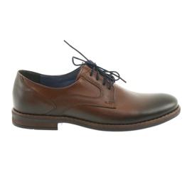 Mäns bruna skor Nikopol 1712