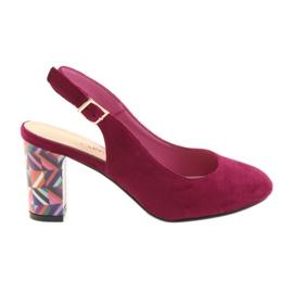 Sandaler på stolpen Sergio Leone 788 rosa