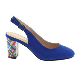 Sandaler på stolpen Sergio Leone 788 indigo mic blå
