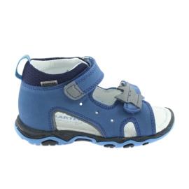 Sandaler pojkarnappar Bartek 51489 blå