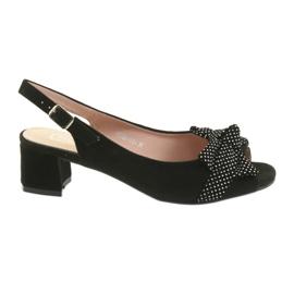 Filippo 788 svart / dots sandaler