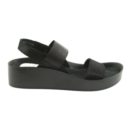 Filippo 767 profilerade svarta sandaler