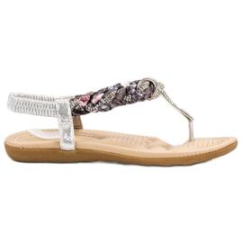 Cm Paris grå Fashionabla japanska sandaler