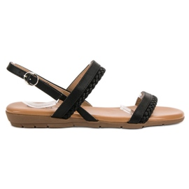 Cm Paris svart Casual Sandals