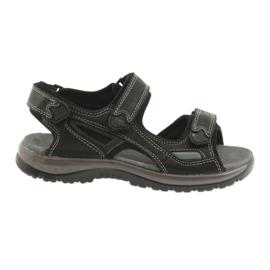 Velcro sandaler ljus EVA DK svart