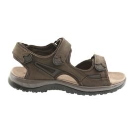 Velcro sandaler ljus EVA DK brun botten