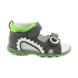 Sandaler pojkarnappar Bartek 51063 grå