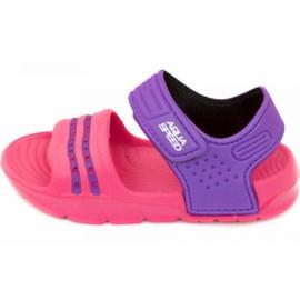 Aqua-speed sandaler Noli rosa lila col.39
