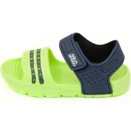 Sandaler Aqua-speed Noli Green Navy Blue Col .84