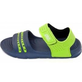 Sandaler Aqua-speed Noli navy green Kids col.48