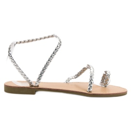 Comer grå Slip-on kvinnors sandaler