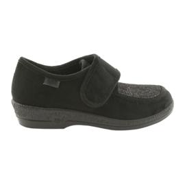 Svart Befado kvinnors skor pu 984D017