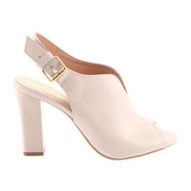 Sandaler på stolpen Espinto 195 pulverrosa
