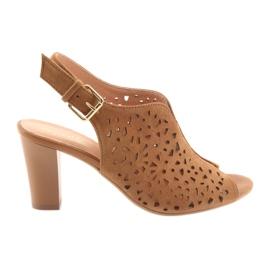 Openwork sandaler på Espinto 317 posten