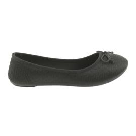 McKey sneakers ballerinas slip-in black svart