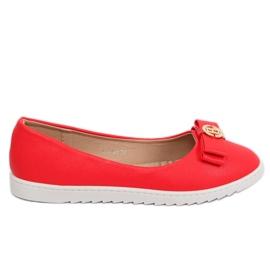 Röda kvinnors ballerinas YSD-03 Red