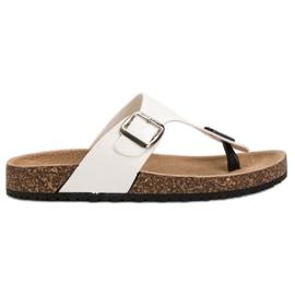 Seastar Bekväma flip-flops vit