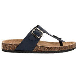 Seastar Bekväma flip-flops marinblå