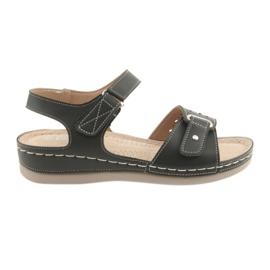 Sandaler för kvinnor komfort DK 25131 svart
