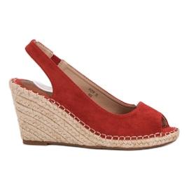 Seastar röd Slitstarka sandaler