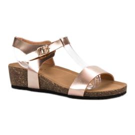 Seastar gul Lackerade sandaler