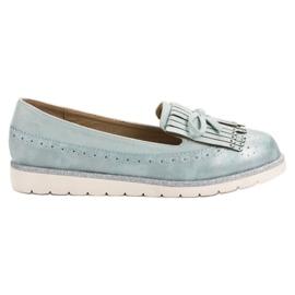 Balada Kvinnors Blå Loafers